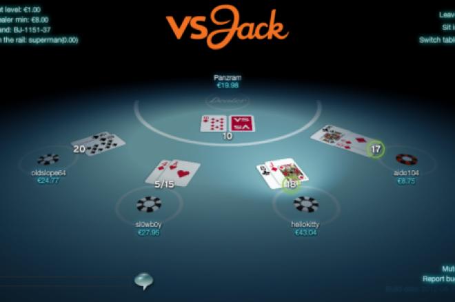 Otrzymaj darmowe €20 na vsJack.com - Zagraj w blackjacka online 0001
