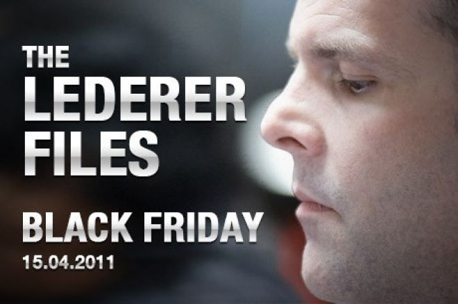 The Lederer Files: The Backlog and Black Friday 0001