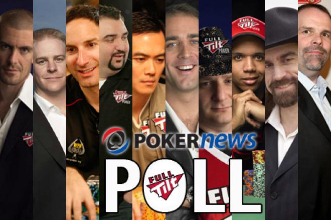 PokerNews POLL - Wie van Team Full Tilt is goed, en wie slecht?
