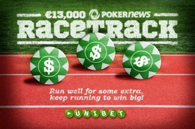 And They're Racing! Join in the €13,000 PokerNews RaceTrack on Unibet! 0001