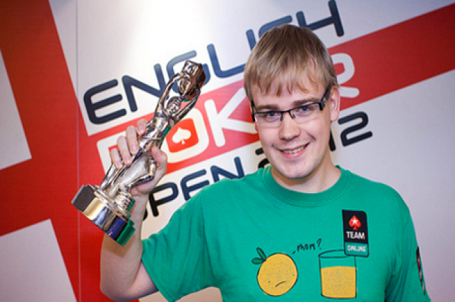 Mickey Petersen выиграл  English Poker Open 2012 0001