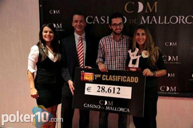 Carlos Ribas, ganador del CEP Mallorca