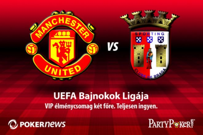 Manchester United and PartyPoker