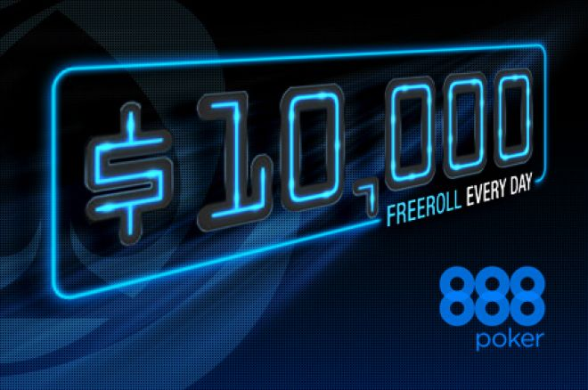 Celebrate 888poker's 40 Millionth Tournament With a $10,000 Freeroll Every Day! 0001