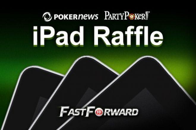 PokerNews iPad Raffle