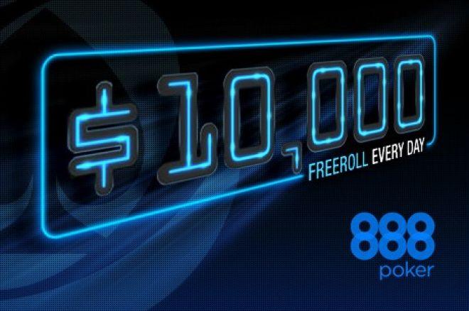 Γιορτάστε τα 40 εκατομμύρια τουρνουά του 888poker με... 0001