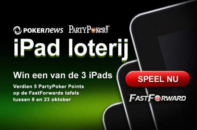 Win een iPad in de PartyPoker iPad loterij