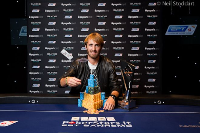 PokerStars EPT San Remo: Ludovic Lacay wint voor €744.910!
