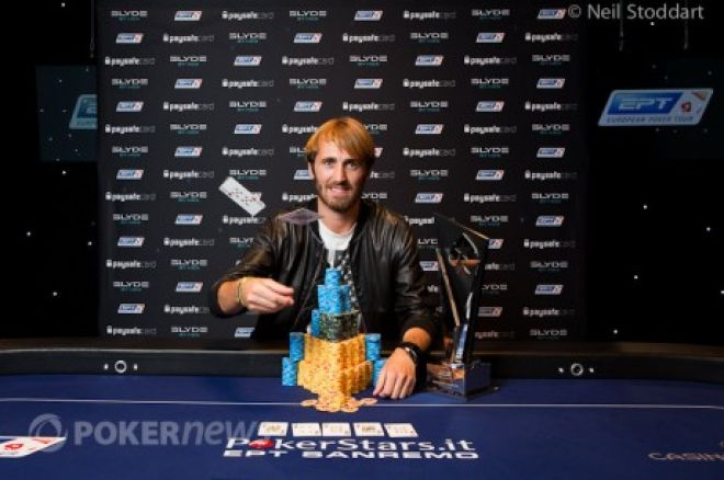 2012  EPT Sanremo Main Event: Поздравляем победителя Ludovic Lacay... 0001