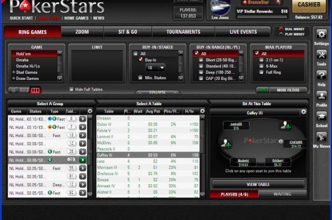 PokerStars 7 programa