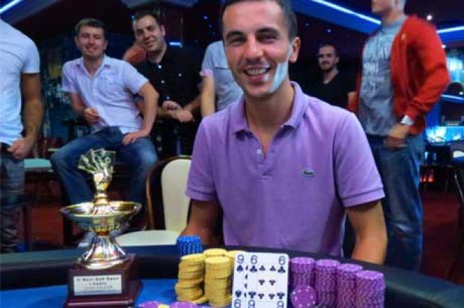 Branko Čalija Pobednik II NS Open Texas Hold'em Turnira 0001