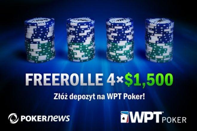 Złóż depozyt na WPT Poker i zagraj we freerollach z łączną pulą $6,000! 0001