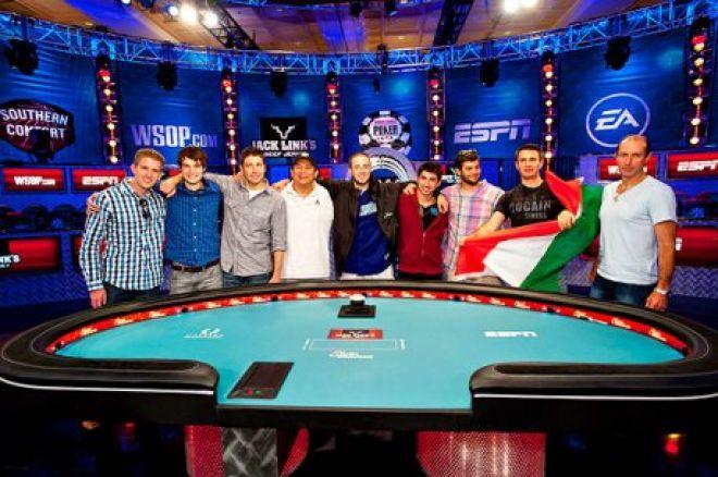 WSOP Final Table: Greg Merson, Jesse Sylvia e Jake Balsiger Na Disputa do Ouro 0001