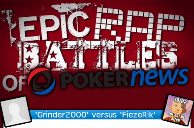 PokerNews RapBattle: 'Grinder2000' versus 'FiezeRik' | Breng je stem uit!