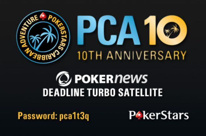 Win One Of 200 Seats To The PCA $10 Qualifier Where 10 PCA Packages Are Guaranteed! 0001