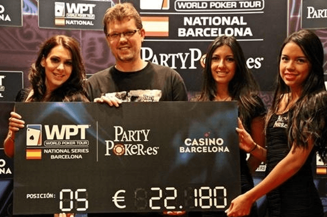 Tóth Redmond ötödik lett a WPT National Barcelonán 0001