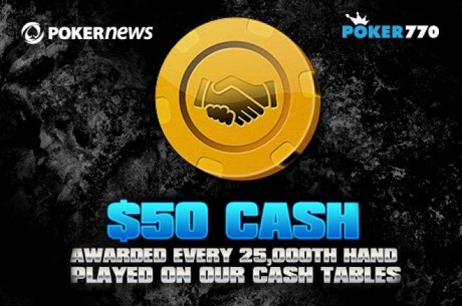 PokerNews +EV: Poker770 med Golden Handshakes, Gratis bankroll og mer! 0001