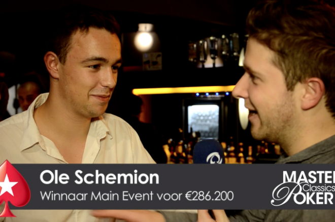 PokerStars en PokerNews MCOP Journaal   Dag 7: Schemion wint!
