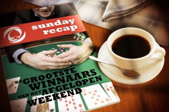 """Sunday Recap: Hallaert wint Sunday 500, """"Graftekkel"""" wint The Bigger $109 en Berende 2e in Sunday Supersonic"""
