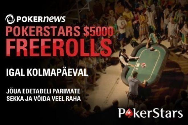 Tasuta pokkeri turniirid