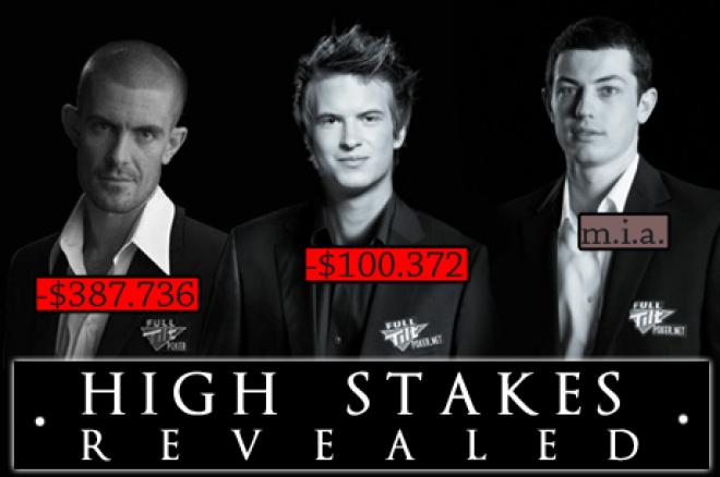 High Stakes Revealed - Full Tilt Poker pro's leveren stevig in