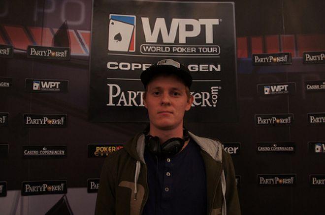 2012 World Poker Tour København: Kjær leder etter dag 2, Hille ute av Main Event 0001