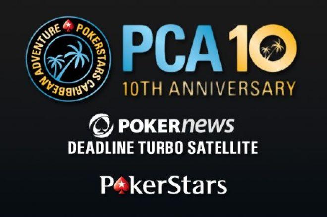 Wygraj jedno z 200 miejsc do satelity PCA z wpisowym $10! 0001