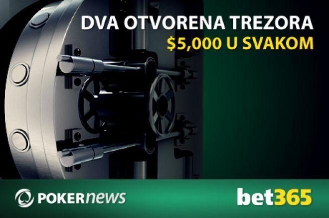 Osvoji deo od $10,000 na bet365 u Otvorenim Trezorima Pokernews Promocije 0001
