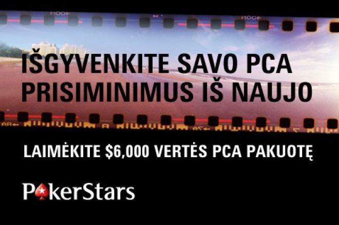 Liko viena diena pasidalinti savo PCA įspūdžiais ir laimėti $6,000 vertės pakuotę! 0001