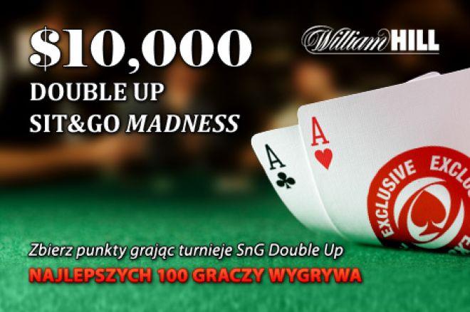 Zgarnij swoją część z puli $10,000 w promocji Sit and Go Double Up Madness 0001