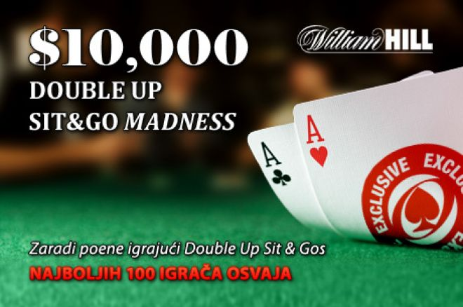 Dodji Do Svog Dela od $10,000 u DoubleUp Sit and Go Madness Promociji 0001
