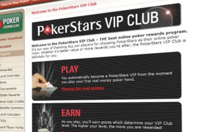 Zmiany w VIP Club PokerStars! 0001