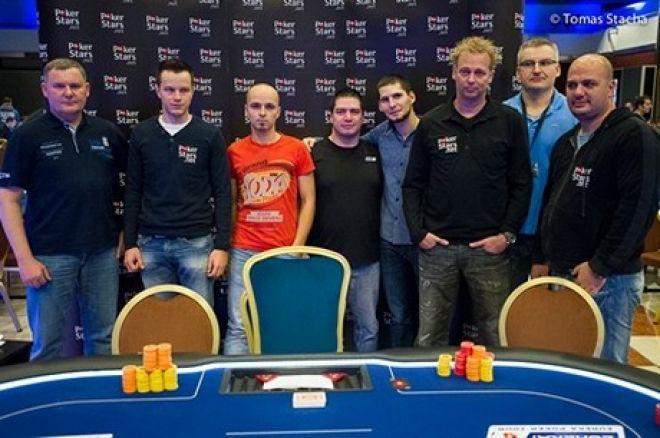 Mariusz Kłosiński szósty w turnieju Eureka Poker Tour Praga ( €22,100) 0001