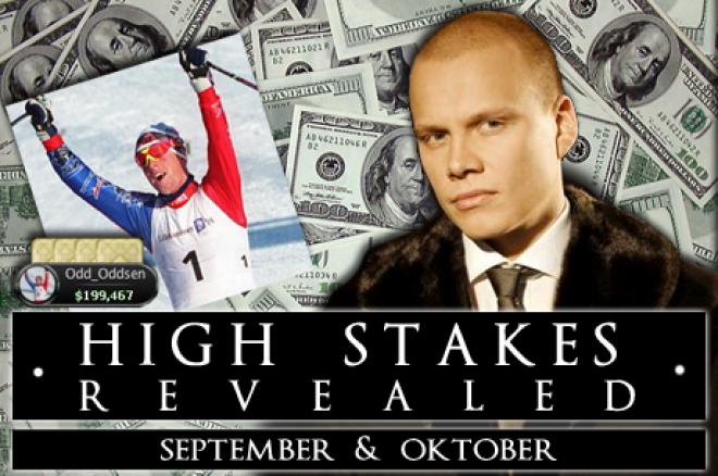 High Stakes Revealed - september & oktober - Ongekende comeback voor Sahamies
