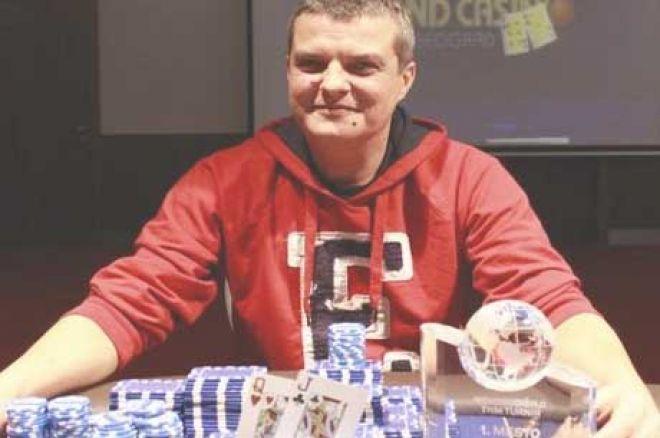 Srdjan Pavlović Pobednik Novogodišnjeg Turnira Grand Kazina 0001