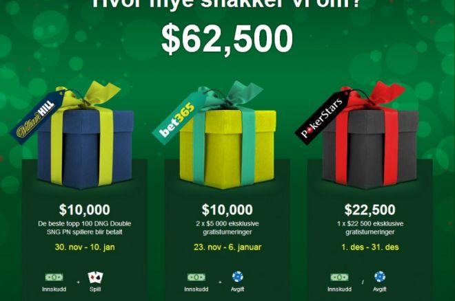 PokerNews julekampanjer - Verdi $62 500 0001