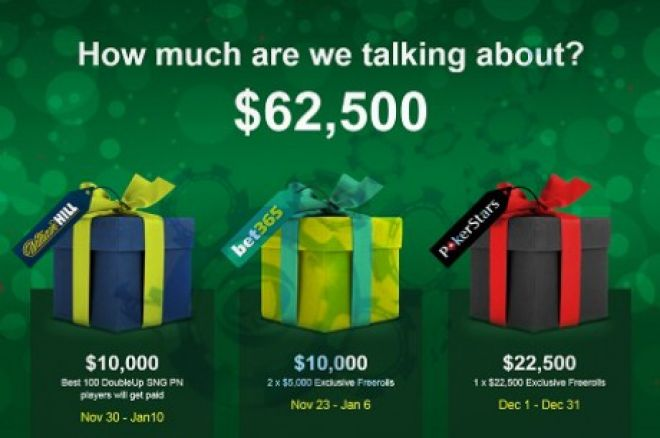Neįtikėtinos šventinės akcijos tik su PokerNews! 0001