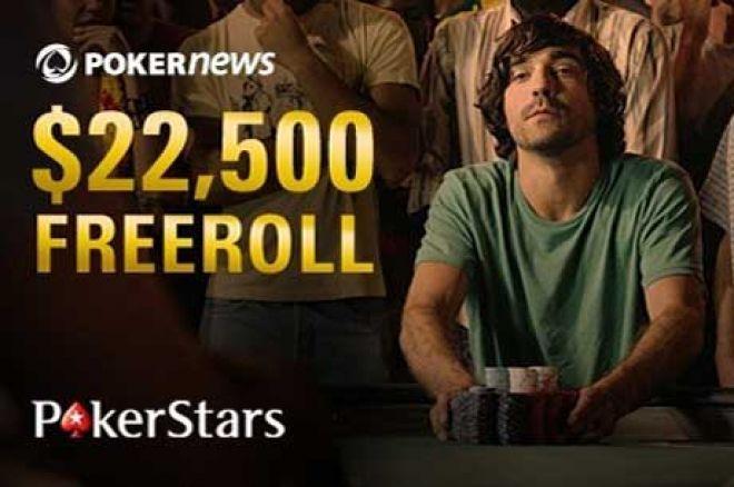 Večeras se Završava Kvalifikacioni Period za PokerStars $22,500 Freeroll 0001