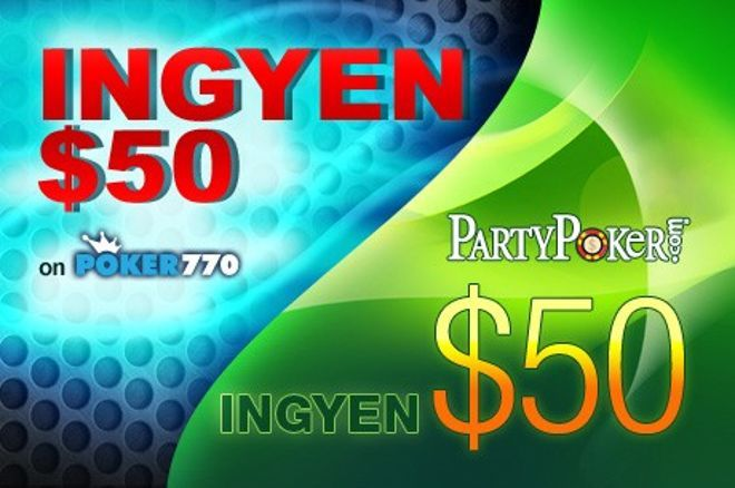 Ajándék $50 kezdőtőke az év utolsó napjaira a PartyPokeren és a Poker770-nél is! 0001
