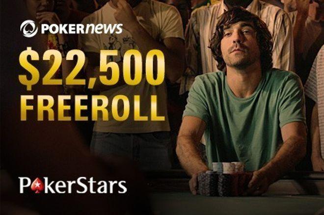 Nie przegap kolejnego freerolla PokerNews na PokerStars z pulą $22,500 0001