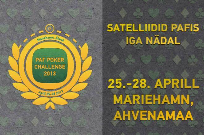 Paf Poker Challenge 2013