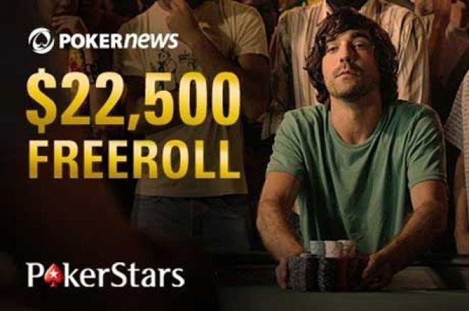 Ne Propustite Šansu da Igrate $22,500 Ekskluzivni PokerStars Freeroll 0001