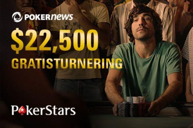 Delta i PokerNews sin eksklusive $22 500 PokerStars Freeroll 0001