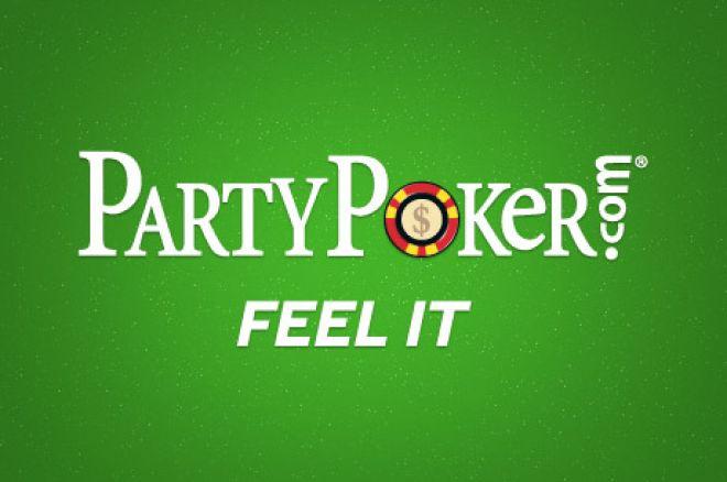 Start din pokerkarriere med $50 gratis hos PartyPoker 0001