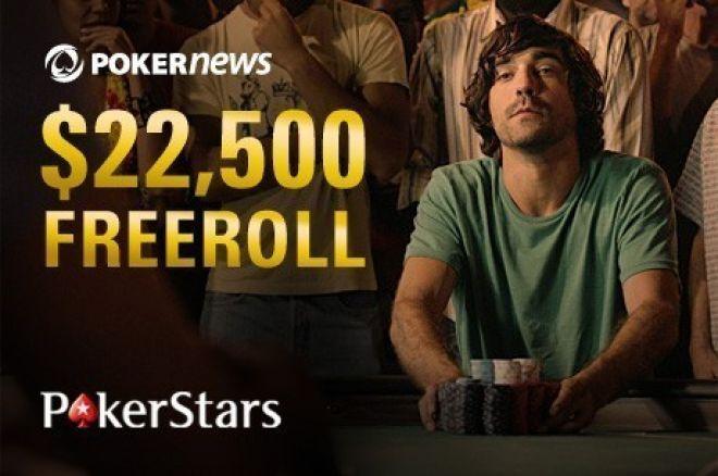 Nie marnuj czasu! Zakwalifikuj się do freerolla z pulą $22,500 na PokerStars 0001