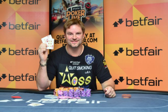 2012 Betfair Poker LIVE London champion, Roger Johannessen