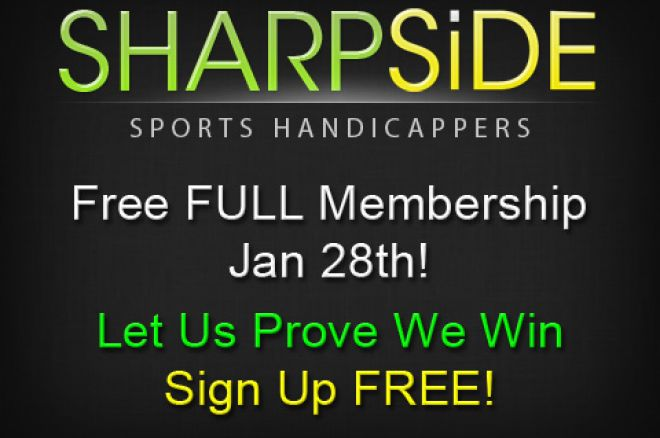 Sign up for One Free Week at SharpSide.com 0001