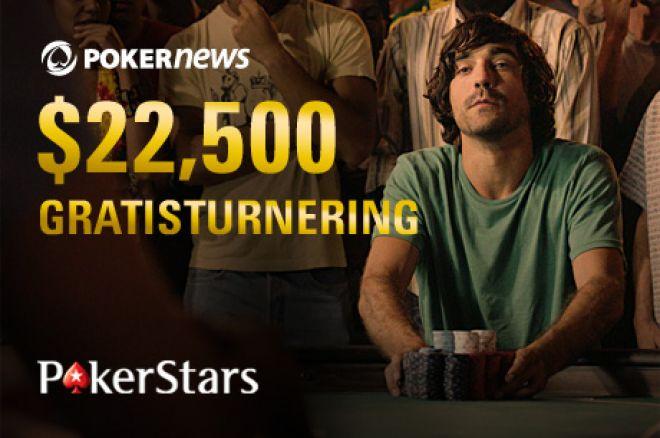 Siste innspurt med kvalifisering til vår eksklusive PokerStars $22 500 Freeroll 0001