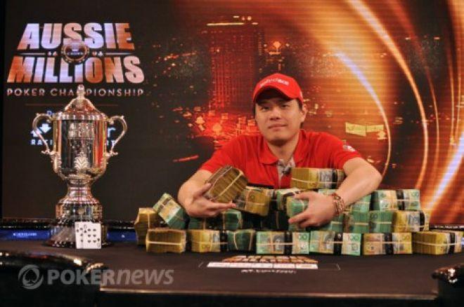 Мервин Чен  – Чемпион Aussie Millions Main Event 0001