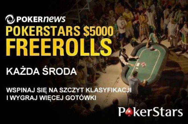 Zakwalifikuj się do kolejnego freerolla z pulą $5,000 na PokerStars 0001